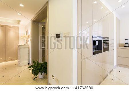 Fancy Modern Villa With Smart House System