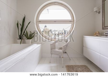 Simple And Clean Bathroom Decor For Those Who Love Harmony