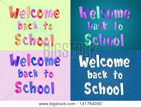 Welcome Back To School Set