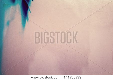 Blank grained film strip texture background with heavy grain dust scratches and light leak