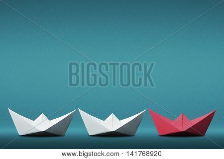 Leader Paper Boat Concept