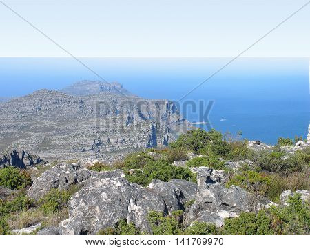 View From Top Of Table Mountain, Cape Town South Africa