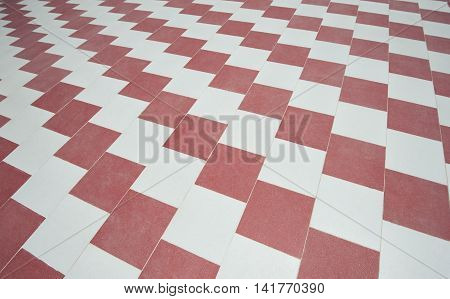 Abstract Tiled Floor Pattern Background Wallpaper