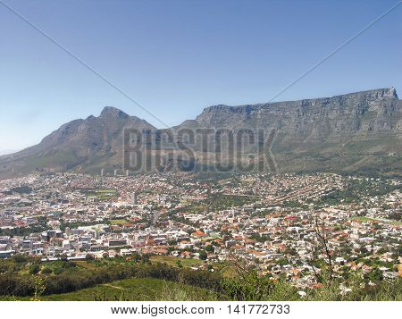 Table Mountain,Cape Town South Africa