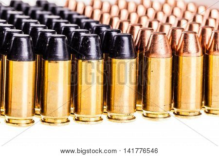 Different Bullets Isolated