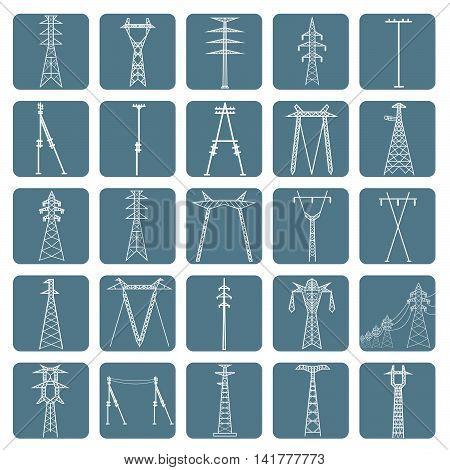 Electricity Pylon High Voltage_2
