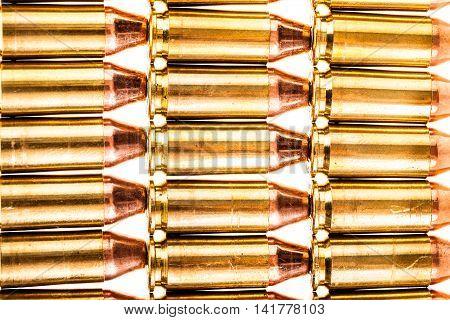Handgun Ammo Rows
