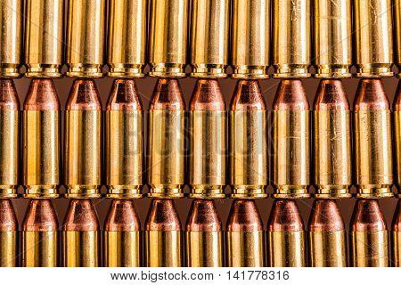 Pistol Ammunition Rows