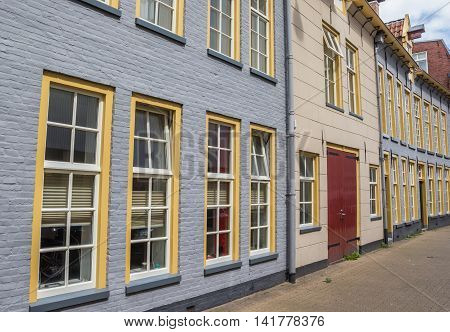 Old Houses In The Historical Center Of Groningen