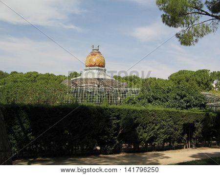 Bonito Parque Labordeta. Ciudad de  Zaragoza. España.