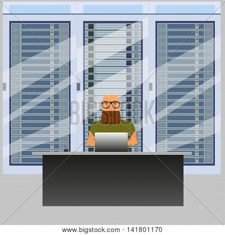 system administrator for work in server room