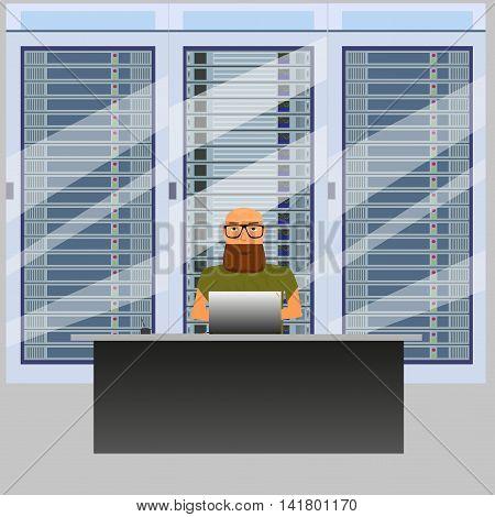 system administrator for work in server room