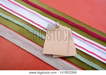 Holiday Gift Wrapping Background.