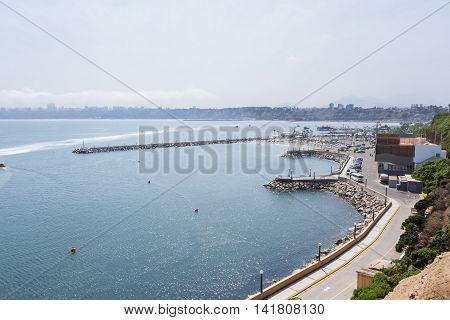 Coast Of Lima, Peru