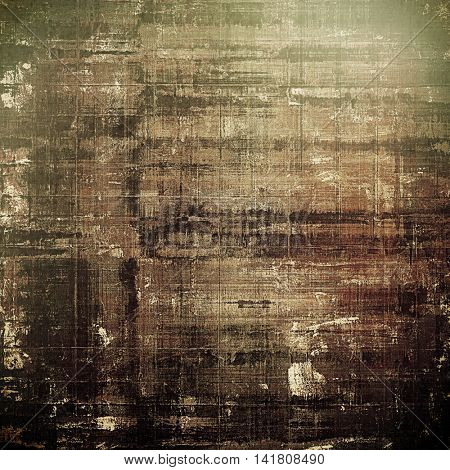 Scratched vintage colorful background, designed grunge texture. With different color patterns: yellow (beige); brown; gray; green; black
