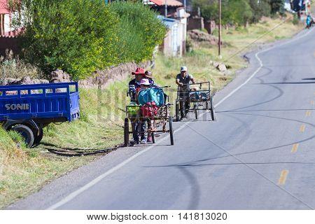 Lifestyle Of Peru