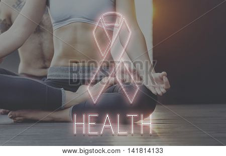 Womens Health Awareness Ribbon Concept