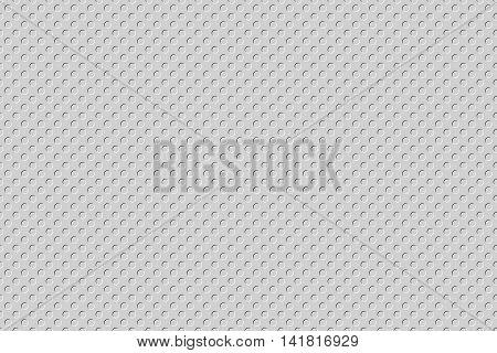 grey emboss small polka dot texture background