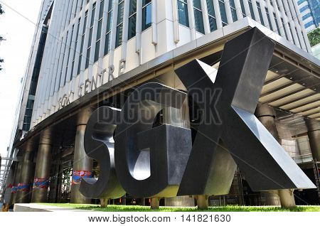 Singapore Sgx Centre