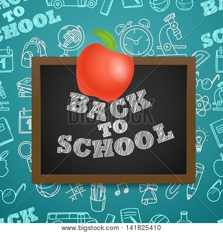 Back to scholl concept. Falling apple to the letters on the blackboard