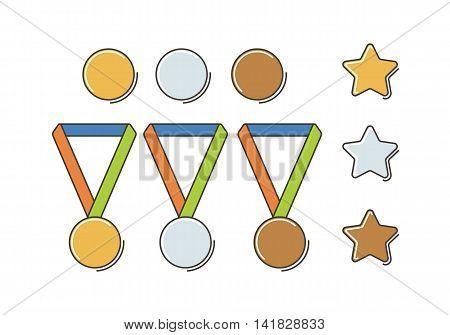 Winner Medal Set