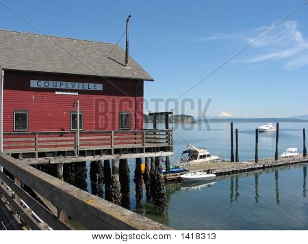 Coupeville Wharf In Summer