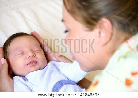 After Childbirth Newborn Baby