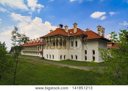 Brancoveanu Monastery In Sambata De Sus, Romania