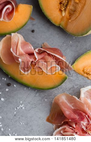 Jambon Mix. Ham. Traditional Italian And Spanish Salting, Smoking, Dry-cured Dish - Jamon Serrano An