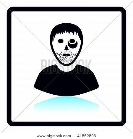 Criminal Man Icon