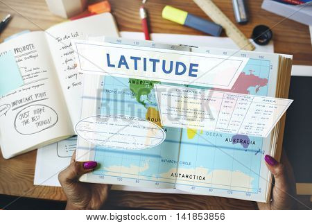 Longtitude Latitude World Cartography Concept