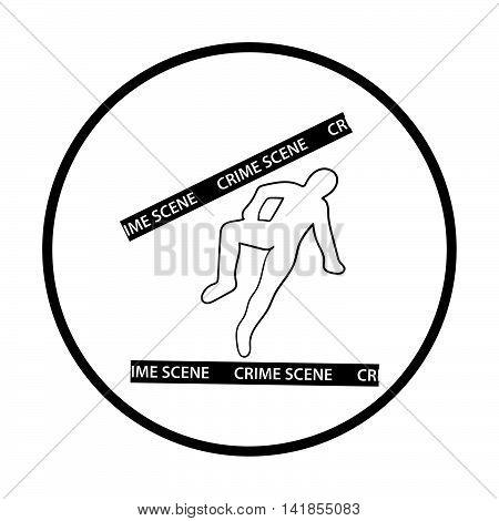Crime Scene Icon