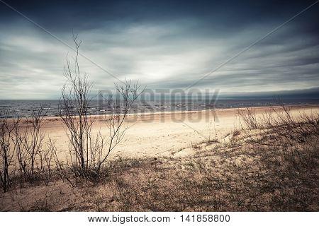 Dramatic Coastal Landscape, Baltic Sea