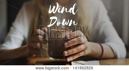Wind Down Hurricane Tornado Typhoon Storm Concept