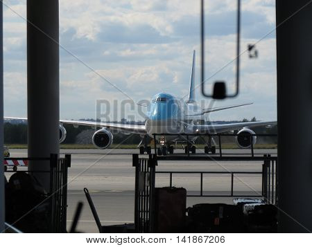 Boeing 747 Of The Korean Air