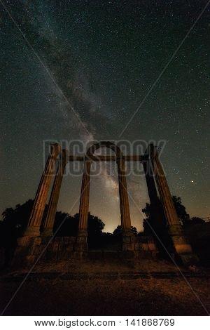 Milky Way in the Templo de los Marmoles