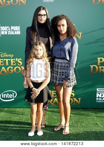 Rachel Roy at the World premiere of 'Pete's Dragon' held at the El Capitan Theatre in Hollywood, USA on August 8, 2016.