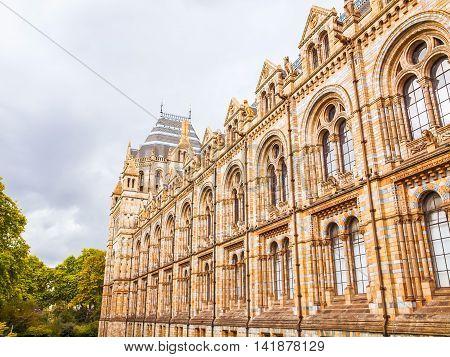 Natural History Museum, London, Uk Hdr