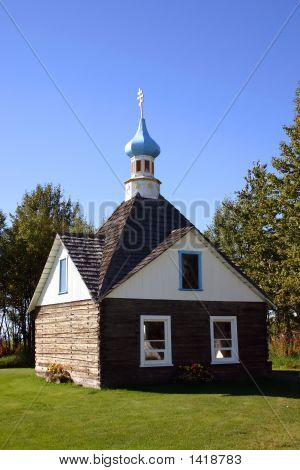 Russian Orthodox Chapel In Alaska