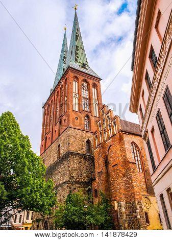 Nikolaikirche Church Berlin Hdr