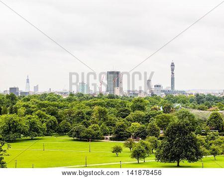 Primrose Hill London Hdr
