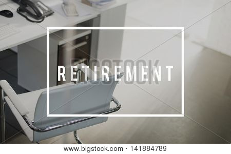 Retirement Pension Retire Planning Savings Wealth Concept