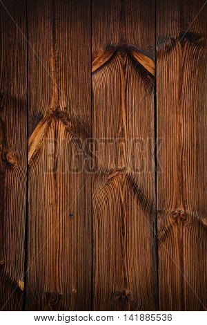 Brown Old Vintage Wooden Texture Background