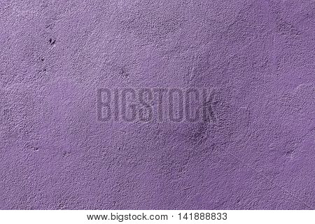 Plaster, plaster texture, plaster background. Old brick wall with plaster, photo texture, seamless background, violet, macro textured background, wall pattern