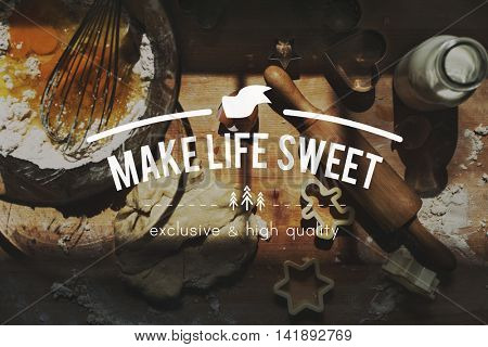 Life Sweet Living Mind Nature Healthy Simply Concept
