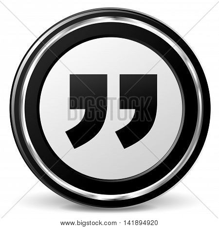 Illustration of comment black and gray icon