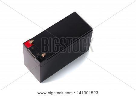Sealed Ups Battery  Isolated On White Background