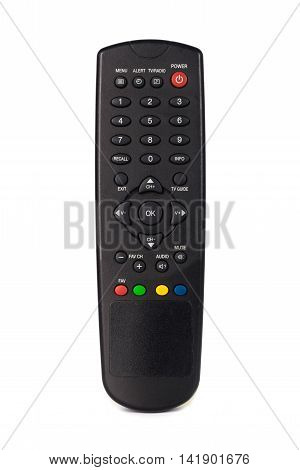 Infrared Remote Control For Tv Satellite Receiver, Isolated