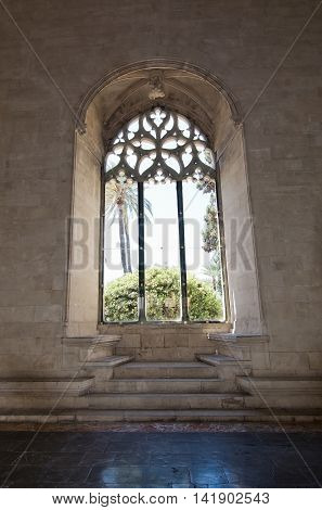 La Llotja Gothic Window Interior