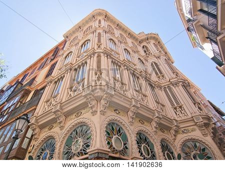 Beautiful Can Corbella Art Nouveau Building